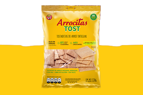 Arrocitas Tost Integral de Cerealko